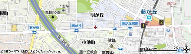 RUSHdining&BAR周辺の地図