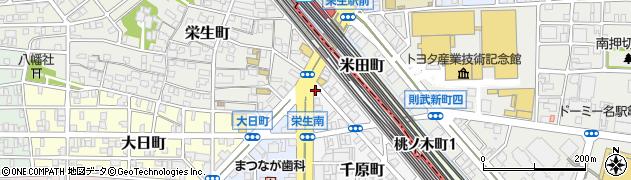 珍味園周辺の地図