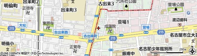 新ばし周辺の地図