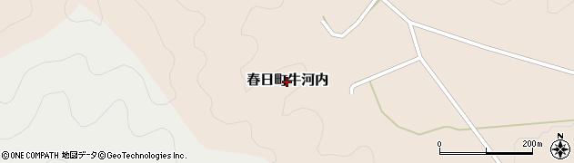 兵庫県丹波市春日町牛河内周辺の地図