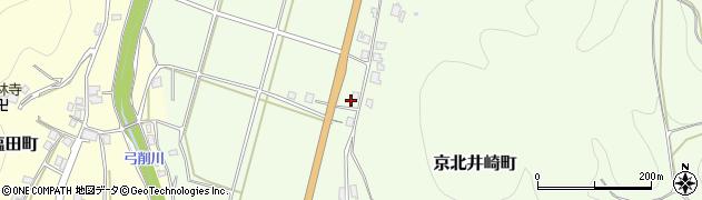 京都府京都市右京区京北井崎町(東中道)周辺の地図