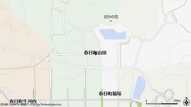 〒669-3401 兵庫県丹波市春日町山田の地図