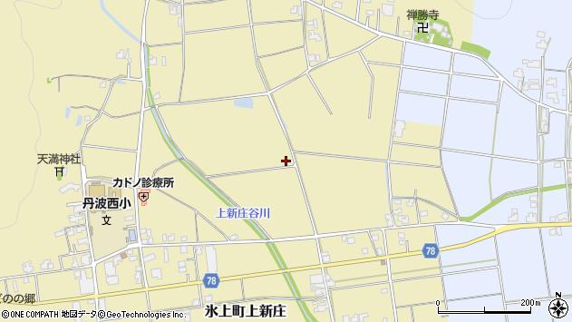 〒669-3613 兵庫県丹波市氷上町上新庄の地図