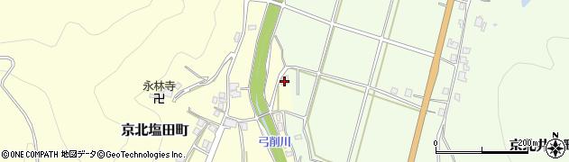 京都府京都市右京区京北塩田町(迎田)周辺の地図