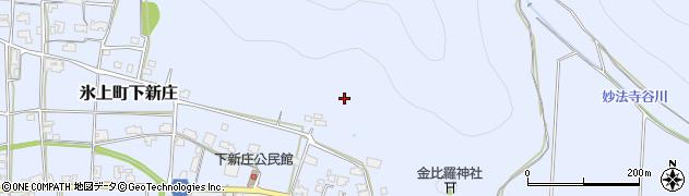 兵庫県丹波市氷上町下新庄周辺の地図