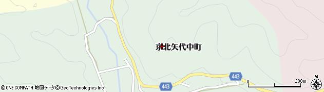 京都府京都市右京区京北矢代中町周辺の地図