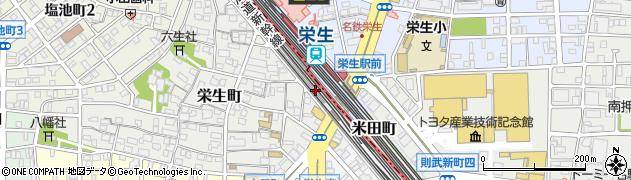 丸忠寿司丸忠 フィール栄生店周辺の地図