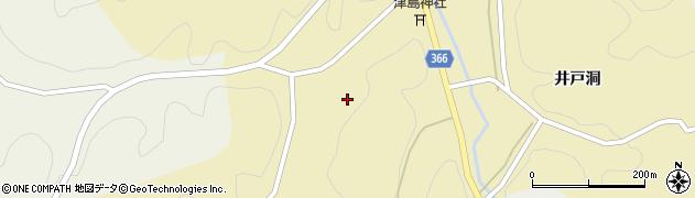愛知県豊田市惣田町(イドクゴ辻)周辺の地図