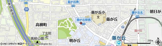 貴楽周辺の地図