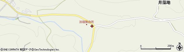 愛知県豊田市加塩町(広見)周辺の地図