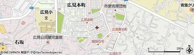 静岡県富士市広見東本町周辺の地図
