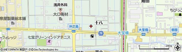 株式会社ショクブン あま営業所周辺の地図