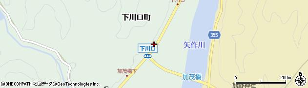 愛知県豊田市下川口町(道喜)周辺の地図