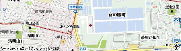 愛知県名古屋市千種区宮の腰町周辺の地図
