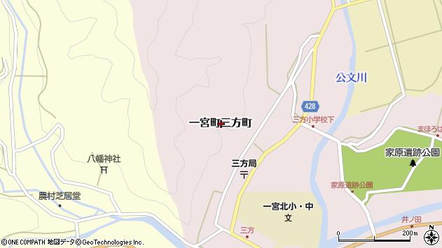 〒671-4113 兵庫県宍粟市一宮町三方町の地図