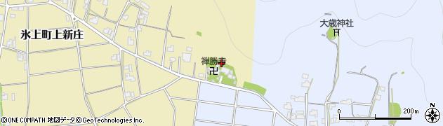 禅勝寺周辺の地図