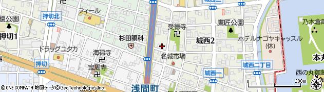 たなか周辺の地図