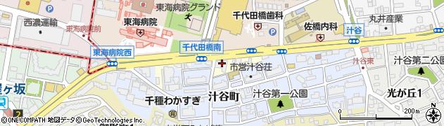 愛知県名古屋市千種区猪高町大字猪子石(猪々道)周辺の地図