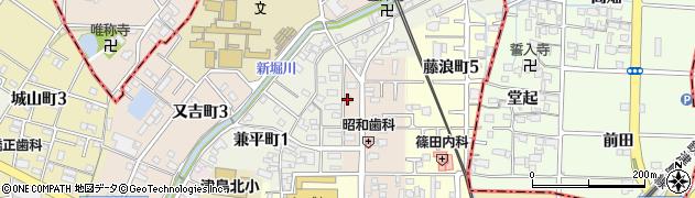 カレン周辺の地図