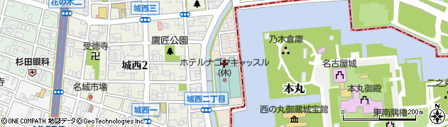 愛知県名古屋市西区樋の口町周辺の地図