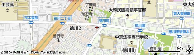 徳川ハイツ周辺の地図