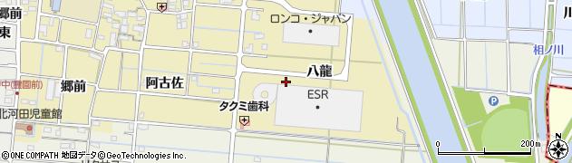 ガーデンピアッツァ周辺の地図