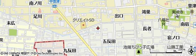スナック絆周辺の地図