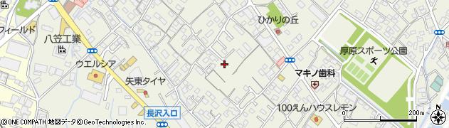 静岡県富士市厚原周辺の地図