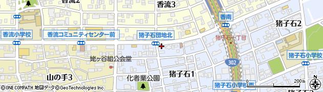 えれがんと周辺の地図