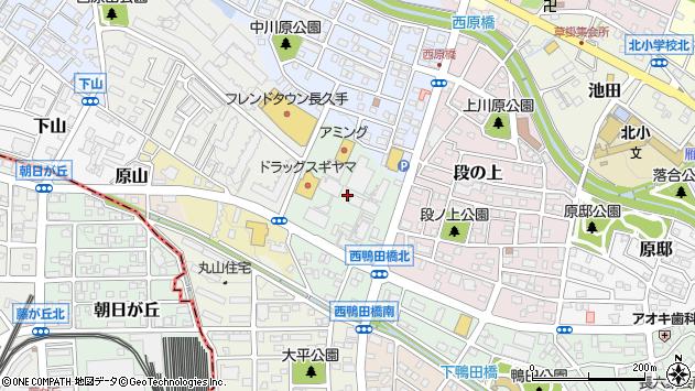 〒480-1161 愛知県長久手市荒田の地図