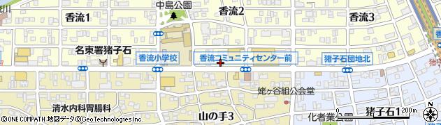 祐太郎周辺の地図