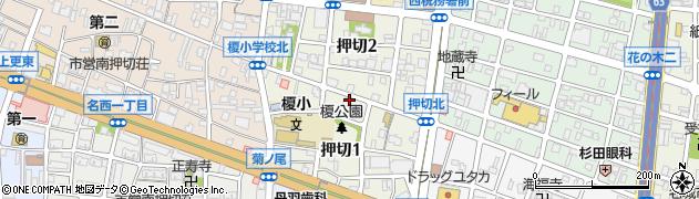 愛知県名古屋市西区押切周辺の地図
