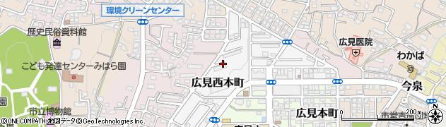 静岡県富士市広見西本町周辺の地図