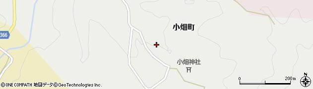 愛知県豊田市小畑町(万場)周辺の地図