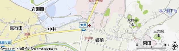 唄のさんぽ道周辺の地図