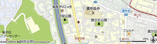 豊藤周辺の地図