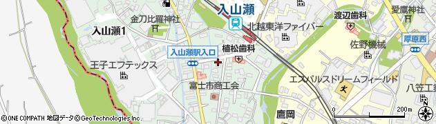 静岡県富士市鷹岡本町周辺の地図