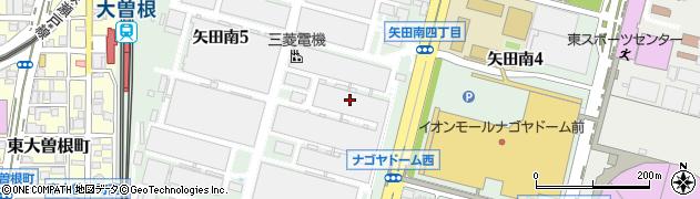 愛知県名古屋市東区矢田南周辺の地図