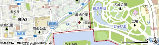 愛知県名古屋市西区堀端町周辺の地図