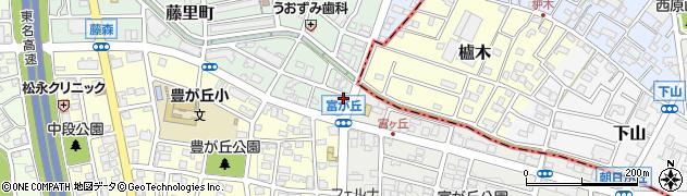 ギョツウ周辺の地図