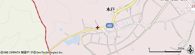 京都府南丹市日吉町上胡麻(谷ノ奥)周辺の地図