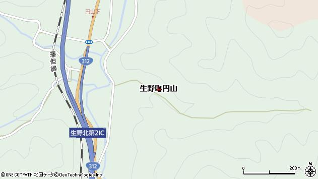〒679-3302 兵庫県朝来市生野町円山の地図