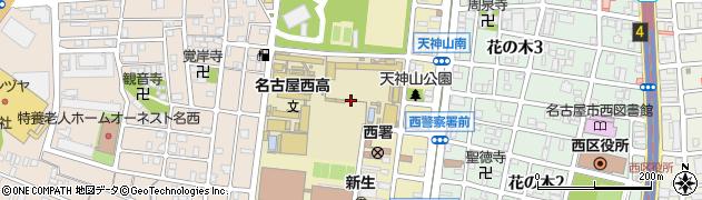 愛知県名古屋市西区天神山町周辺の地図