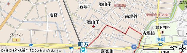 ヤング周辺の地図
