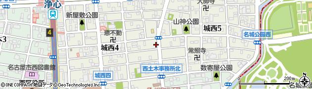 みゆき寿司周辺の地図