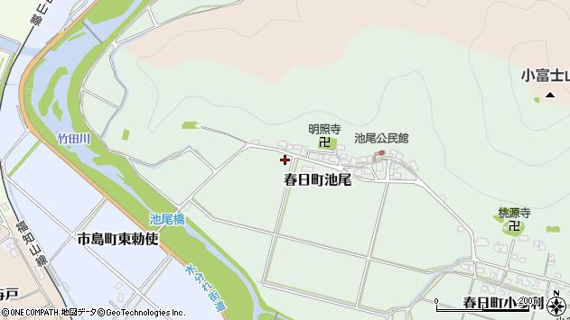 〒669-4121 兵庫県丹波市春日町池尾の地図