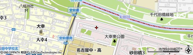 矢田川パークハウス周辺の地図