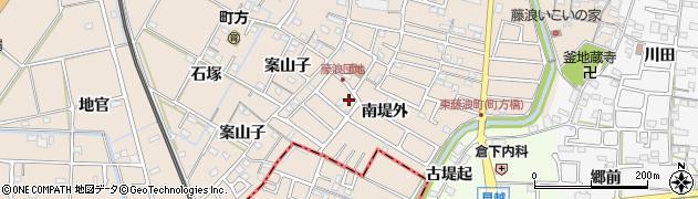 藤浪団地周辺の地図