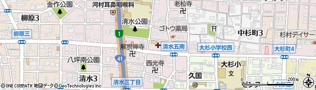 みやび周辺の地図