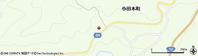 愛知県豊田市小田木町(シモヤ)周辺の地図